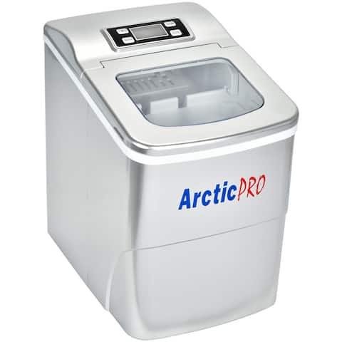 Arctic-Pro Portable Digital Quick Ice Maker Machine, Makes 2 Ice Sizes