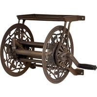 Ames 2398110 Reeleasy 125 in. Antique Bronze Finish Aluminum Wall Mount Hose Reel