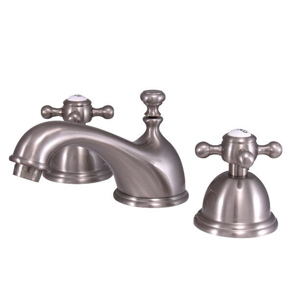 Kingston Brass KS396.BX Vintage 1.2 GPM Deck Mounted Bathroom Faucet with Cross Handles