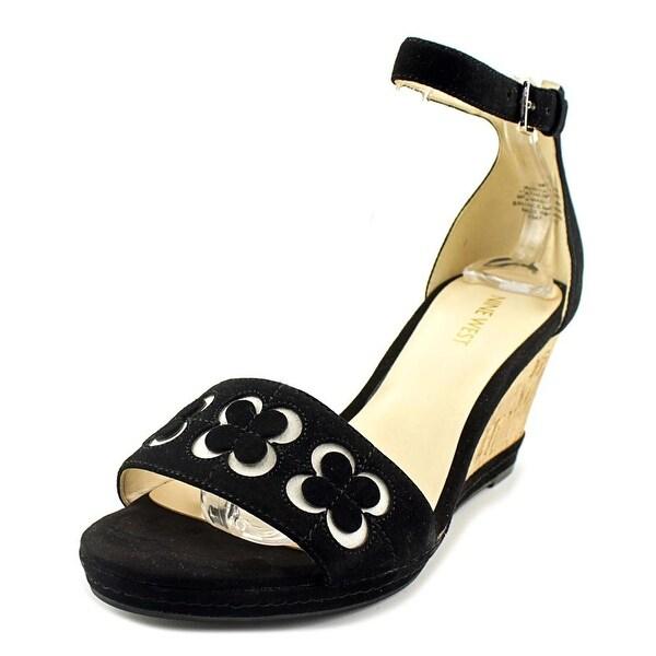 Nine West Julian Women Black Sandals