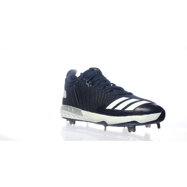 8c649350918 Shop Adidas Mens Boost Icon 3 Blue Baseball Cleats Size 9.5 - Free ...