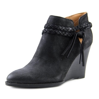 Franco Sarto L-Loni   Open Toe Synthetic  Wedge Heel