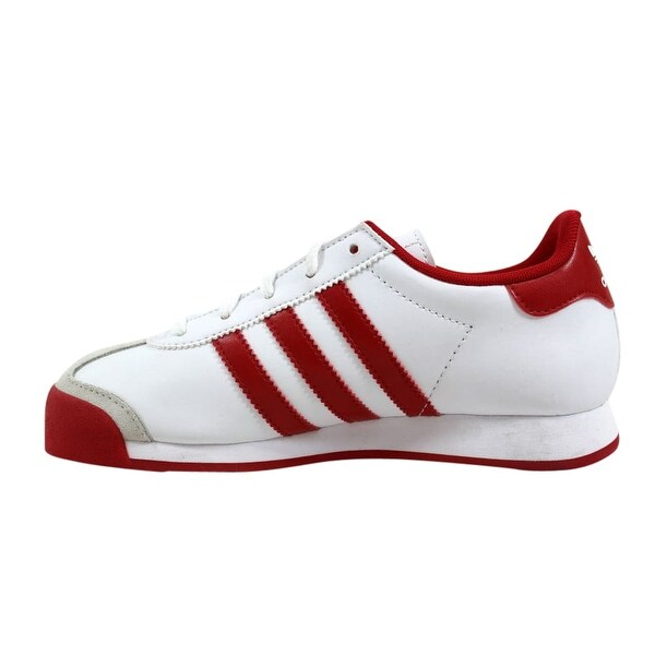Shop Adidas Samoa C White/Scarlet Red