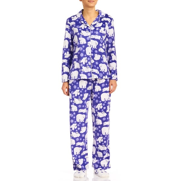 Karen Neuburger Women's Fleece Pajama Set With Socks
