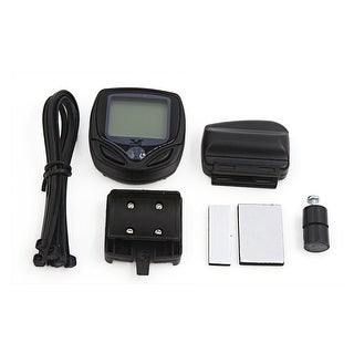 Cycling Bike Waterproof Wireless LCD Computer Odometer Speedometer