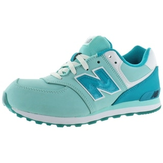 New Balance 574 KL574 Big Kids Girls Lace Up Sneakers Shoes