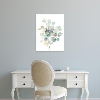 Easy Art Prints Danhui Nai's 'Eucalyptus III' Premium Canvas Art