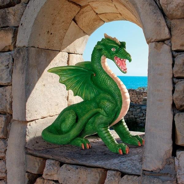 Design Toscano Ormarr Dragon, Monster of the Drawbridge Moat Statue