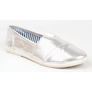 Womens Canvas Slip-On Flats Soda Object