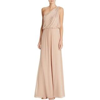 Aidan Mattox Womens Evening Dress Taffeta Beaded