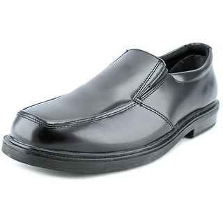 Nunn Bush Tucker Men  Round Toe Leather Black Loafer