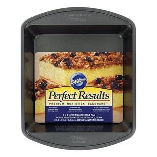 Wilton 2105-6061 Premium Square Cake Pan, Grey