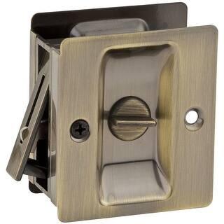 Shop Ultra Hardware 49606 Satin Nickel Privacy Pocket Door