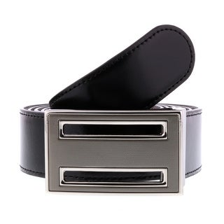 HS Collection HSB 6001 Black/Brown Reversible/Adjustable Mens Belt