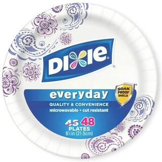Dixie 15289 Heavy Duty Paper Plates, 48 Plates|https://ak1.ostkcdn.com/images/products/is/images/direct/b7acbcceb29adca64f5265f09e60594b63a709f7/Dixie-15289-Heavy-Duty-Paper-Plates%2C-48-Plates.jpg?impolicy=medium