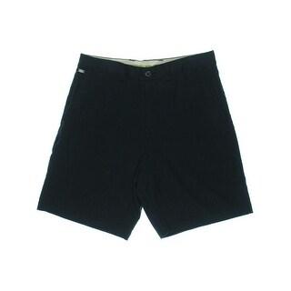 Tommy Bahama Mens Flying Fishbone Silk Bermuda Casual Shorts - 36