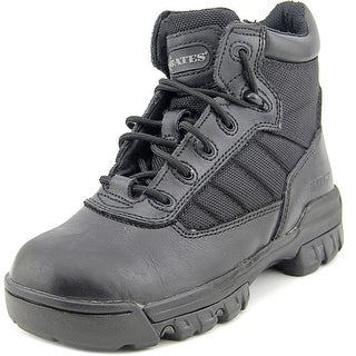 Bates Tactical Sport Youth Steel Toe Leather Black Hiking Boot
