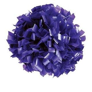 Pizzazz Purple Plastic Cheer Single Pom Pom