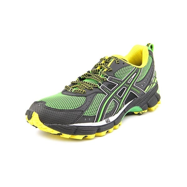Asics Gel-Kahana 6 Men Round Toe Synthetic Green Trail Running