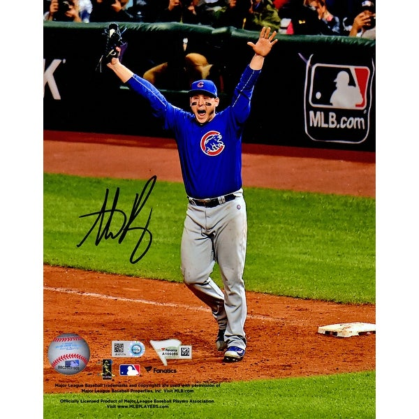 d656bc54e90 Shop Anthony Rizzo Chicago Cubs 2016 World Series Game 7 Final Out 8x10  Photo - Free Shipping Today - Overstock.com - 17974636