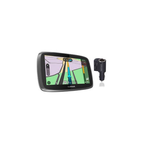 TomTom Trucker 600 with High Speed Multi-Charger