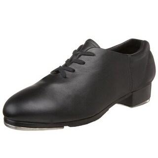 Capezio Womens Premier Leather Lace-Up Tap Shoes