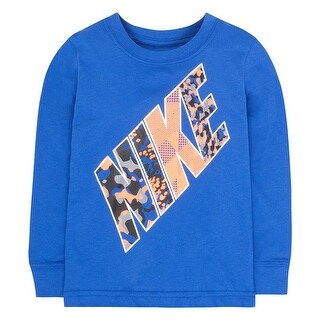 Nike Toddler Boys Print Party Long Sleeve Tee