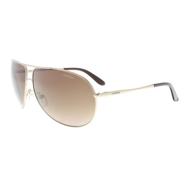 d3fb12852bb17 Carrera NEW GIPSY 0AOZ J6 Semi Matt Gold Square Sunglasses - 64-11-125.  Click to Zoom
