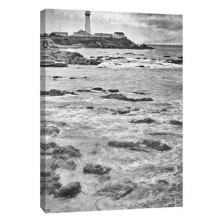 "PTM Images 9-106025  PTM Canvas Collection 10"" x 8"" - ""Big Sur Lighthouse"" Giclee Houses Art Print on Canvas"