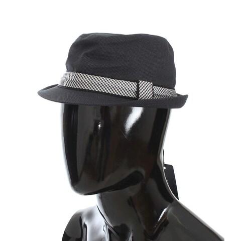 Dolce & Gabbana Dolce & Gabbana Blue Patterned Cotton Trilby Hat - 57-cm-s