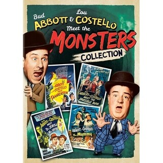 Abbott & Costello Meet the Monsters Collection [DVD]