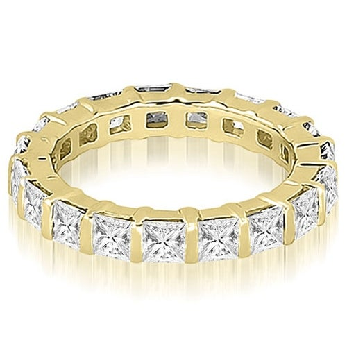 2.00 cttw. 14K Yellow Gold Princess Diamond Eternity Ring