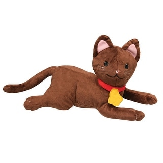 Brown Cat Plushie Stuffed Animal for They All Saw a Cat Book by Brendan Wenzel