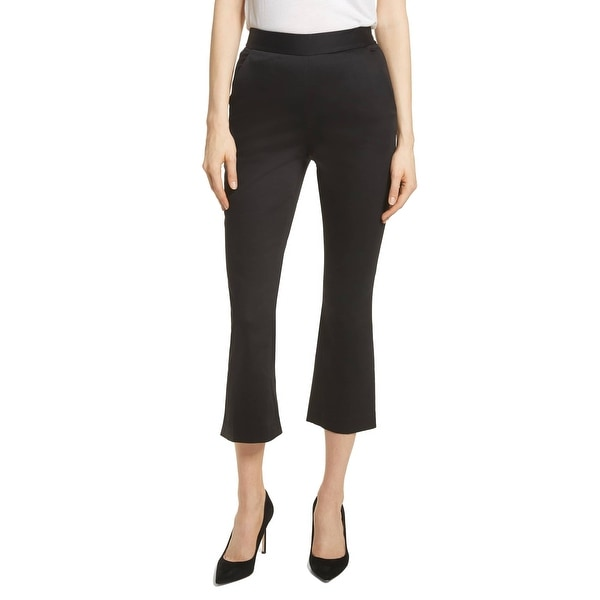63ff2d95d3df6 Shop Frame Solid Women s Stretch Cropped Dress Pants - Free Shipping ...