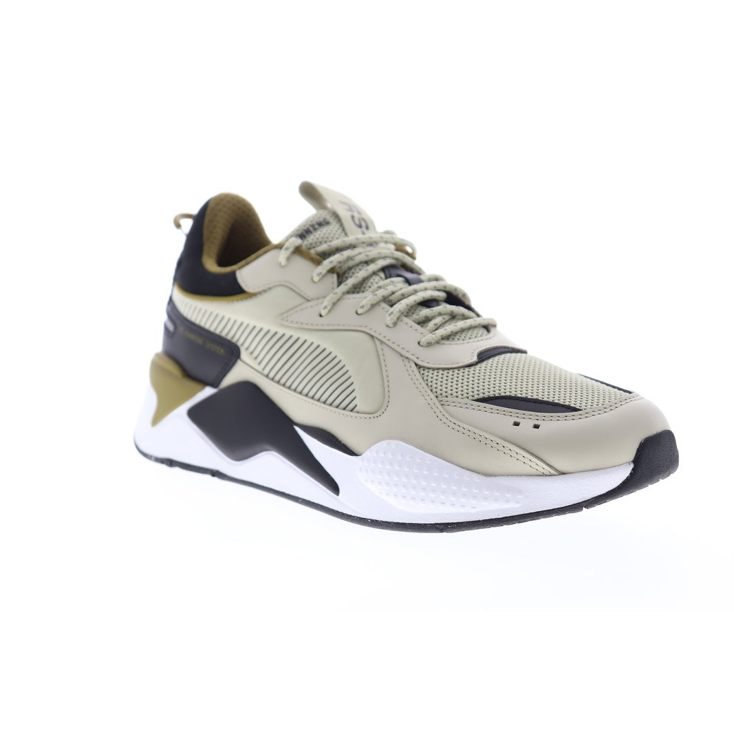 Puma RS-X Core Overcast Black Mens Low Top Sneakers
