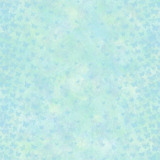Brewster TOT47251 Lucy Blue Butterfly Ombre Column Wallpaper
