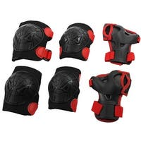 Roller Skating Biking Knee Elbow Wrist Support Protective Pads Safety Gear Set
