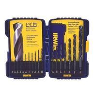 Irwin 585-314018 18 Piece Black Oxide Drill Bit Set