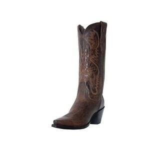Dan Post Western Boots Womens Fashion Maria Bay Dirty Bull Kid DP3208
