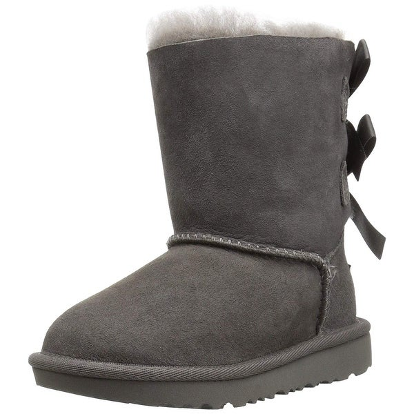 6aa152796aa Shop UGG Girls Bailey T Bailey Bow Ii Toddler Boot - 12 M US Little ...