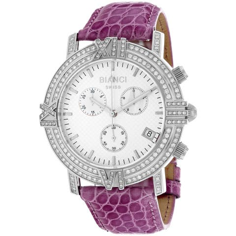 Roberto Bianci 1.72ct Diamonds Women's Medellin RB18501 Silver Dial watch