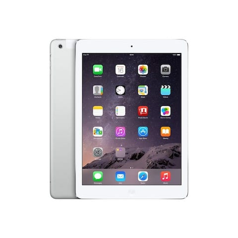 "Apple iPad Air 2 MH2M2LL/A 64GB Apple A8X X3 1.5GHz 9.7"" Unlocked, Space Gray (Scratch and Dent)"
