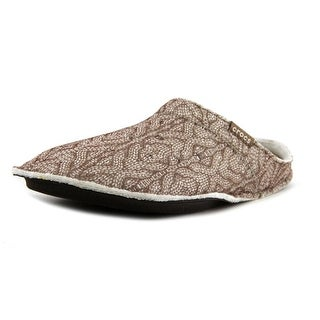 Crocs Classic Cable Knit Slipper   Round Toe Synthetic  Slipper