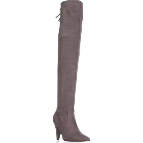 Guess Norris Over The Knee Boots, Taupe - 7 us