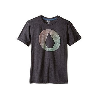 Volcom Boys Inprint ss Tee, Heather Black, M