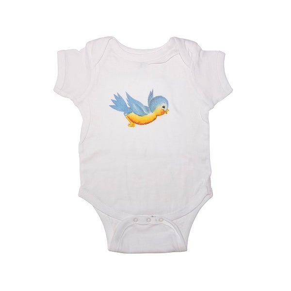 Too Cute Graphic Baby Girl Bodysuit