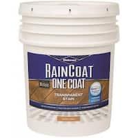 Wolman 288344 RainCoat One Coat Transparent Stain, 5 Gallon