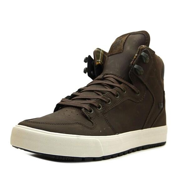 Supra Vaider Cold Weather Men Round Toe Leather Skate Shoe