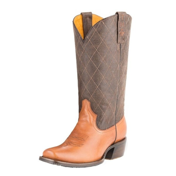 Tin Haul Western Boots Mens Shotgun Brown