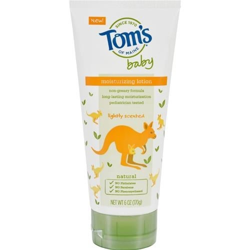 Tom's of Maine - Lightly Scented Moisturizing Baby Lotion ( 1 - 6 OZ)